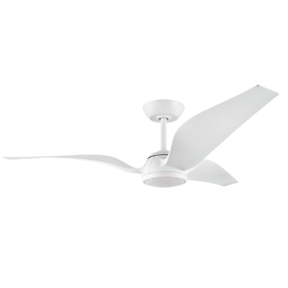 Seagull 56 Quot Dc Ceiling Fan With Led Light White Harvey Norman