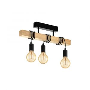 Townshend Close to Ceiling 3LT Pendant