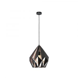 Carlton 1 1LT Pendant Medium Copper