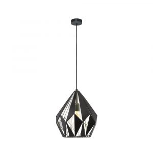 Carlton 1 1LT Pendant Medium Silver