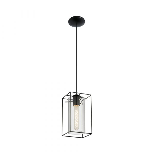 Loncino 1lt Pendant Black Harvey Norman