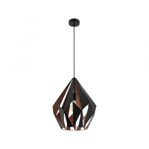 Carlton 1 1LT Pendant Large Copper
