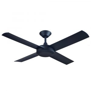 "Concept 3 52"" AC Ceiling Fan Matt Black"
