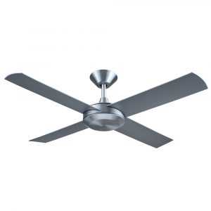 "Concept 3 52"" AC Ceiling Fan Brushed Aluminium"