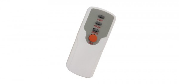 Bathroom 3 In 1 Exhaust Fan Remote, Bathroom Heater Fan Light With Remote Control